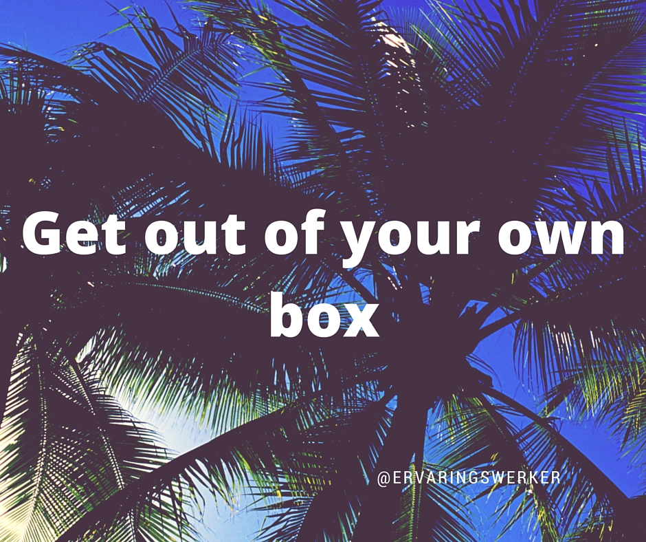Get out of your own box