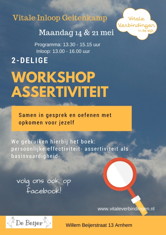 Workshop assertiviteit
